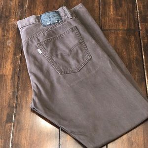 Levi's 514 Brown Denim